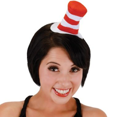 Mini Cat in the Hat Headband