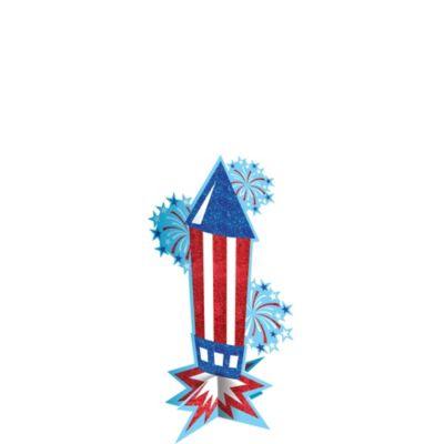 Patriotic Firework Centerpiece