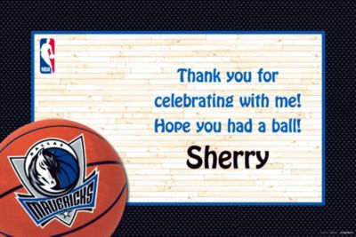 Custom Dallas Mavericks Thank You Notes