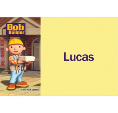 Bob the Builder Custom Thank You Note