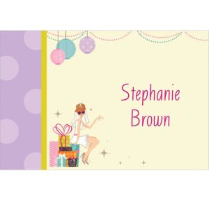 Custom Chic Bride Bridal Shower Thank You Notes