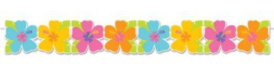 Hibiscus Paper Garland