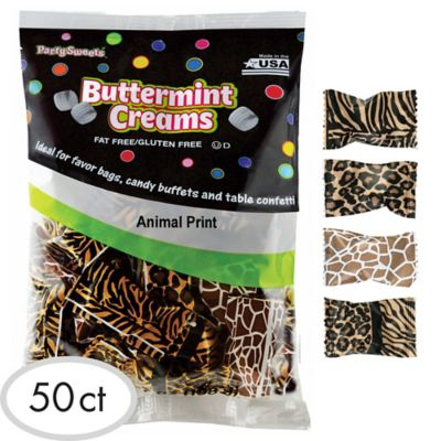 Animal Print Pillow Mints 50ct