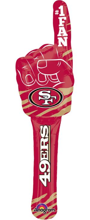 San Francisco 49ers Inflatable Spirit Stick