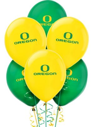 Oregon Ducks Balloons 10ct