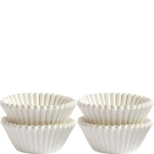 White Mini Baking Cups 100ct