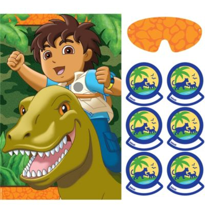 Go, Diego, Go! Party Game