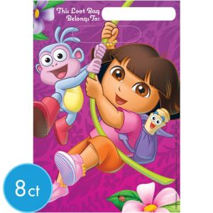 Dora the Explorer Favor Bags 8ct