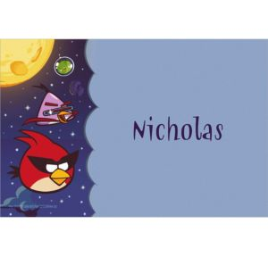 Custom Angry Birds Space Thank You Notes