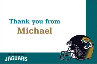 Custom Jacksonville Jaguars Thank You Notes