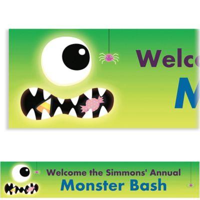 Boo Crew Halloween Custom Banner