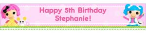 Custom Lalaloopsy Banner 6ft
