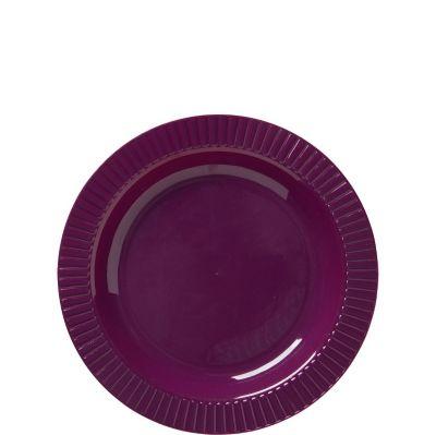 Plum Premium Plastic Dessert Plates 32ct