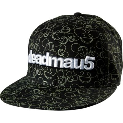 Glow in the Dark Deadmau5 Baseball Hat