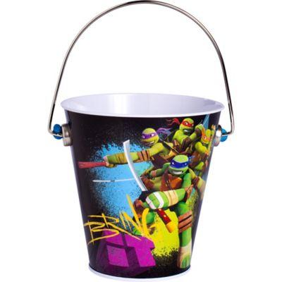 Teenage Mutant Ninja Turtles Metal Pail