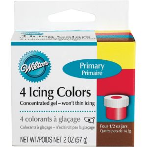 Color Icing Kit 4ct