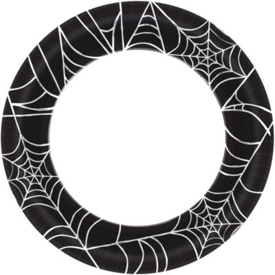 Spider Web Dinner Plates 40ct