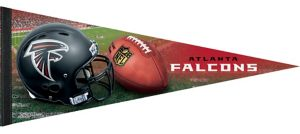 Premium Atlanta Falcons Pennant Flag