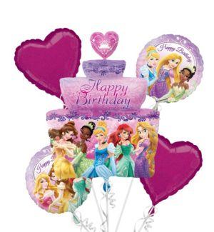 Disney Princess Balloon Bouquet 5pc