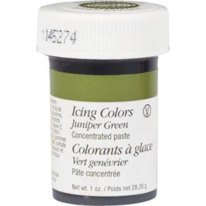 Wilton Juniper Green Icing Color