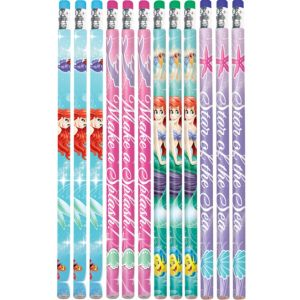 Little Mermaid Pencils 12ct