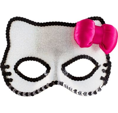 Sequin Hello Kitty Mask