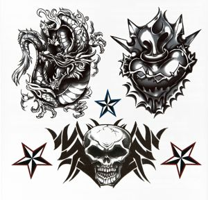 Bad to the Bone Tattoos 35ct
