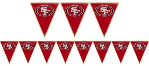 San Francisco 49ers Pennant Banner