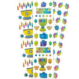 Hanukkah Stickers 4 Sheets