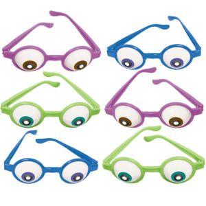 Monsters University Eyeball Glasses 6ct