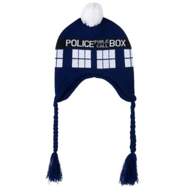 Doctor Who TARDIS Peruvian Hat