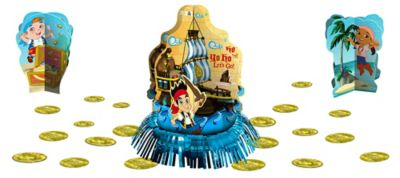 Jake and the Never Land Pirates Table Decorating Kit 23pc