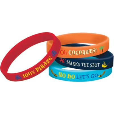 Jake and the Never Land Pirates Wristbands 4ct
