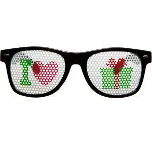 Christmas Printed Glasses