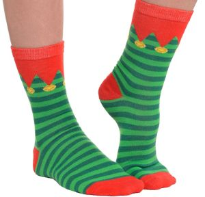 Striped Elf Socks
