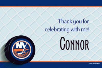 New York Islanders Custom Thank You Note