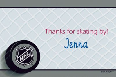 Custom Ice Time Thank You Notes