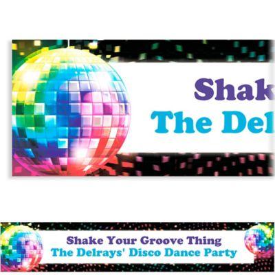 Disco Fever Custom Banner