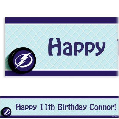 Custom Tampa Bay Lightning Banner 6ft