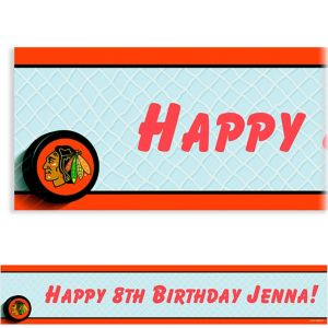 Custom Chicago Blackhawks Banner 6ft