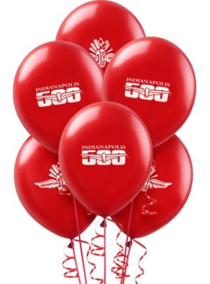 Indy 500 Balloons 11in 10ct