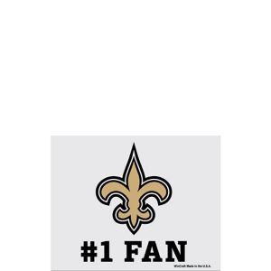 New Orleans Saints #1 Fan Decal