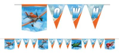 Planes Birthday Banner 6ft