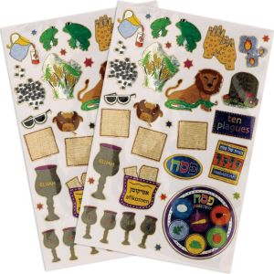 Prismatic Passover Stickers 2 Sheets