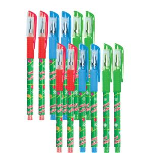 Christmas Gel Pens 12ct