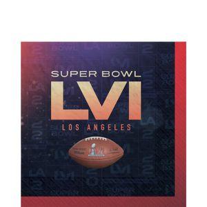 Super Bowl Lunch Napkins 36ct
