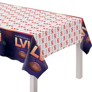 Super Bowl Table Cover