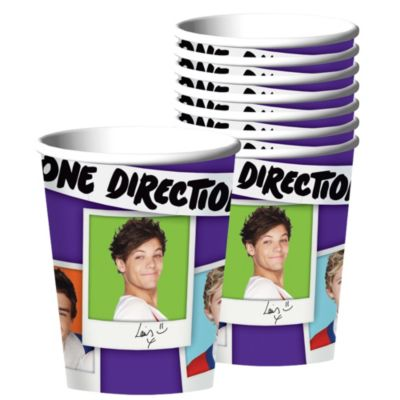 One Direction Cups 8ct