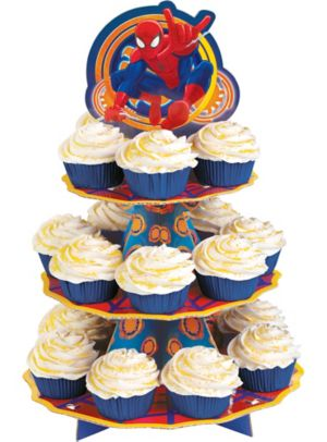 Ultimate Spider-Man Cupcake Stand
