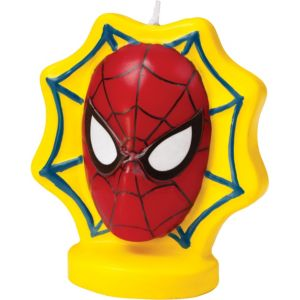 Spider-Man Candle 3in